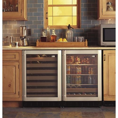 Gentil GE Monogram Undercounter Beverage Center With Liquid Crystal Window. This  Adds A Beautiful And Modern Look To Any Kitchen And Frees Up Valuable  Refrigerator ...