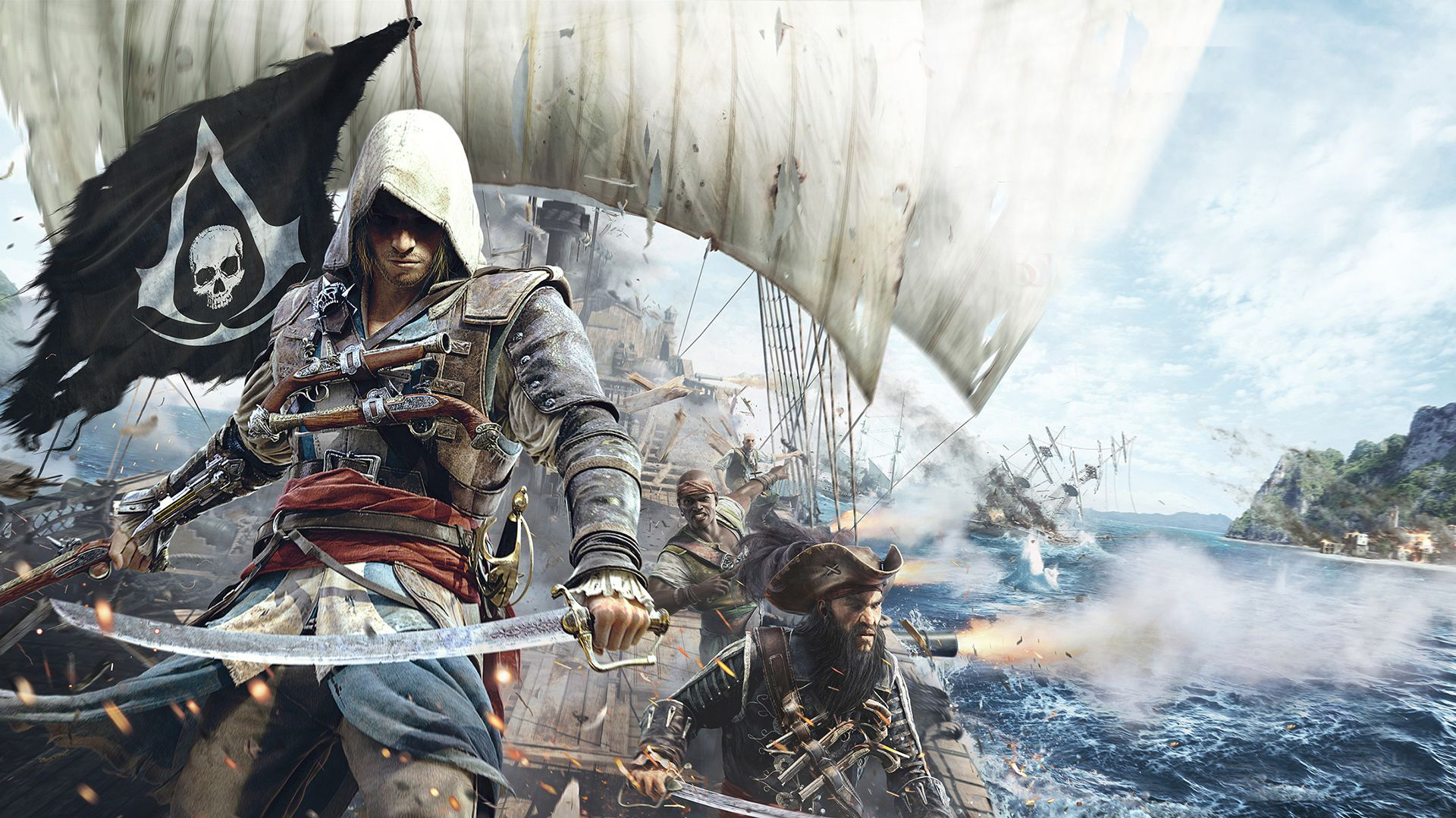 Wallpapers Assassins Creed 4 Black Flag Game Hd Assassins Creed Black Flag Assassin S Creed Wallpaper Assassin S Creed Black
