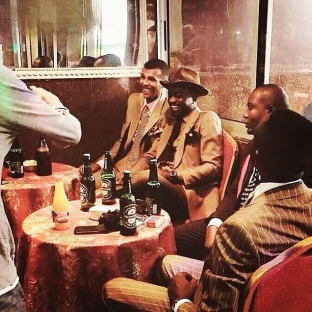 Stromae Et Les Sapeurs Congolais. In 2019