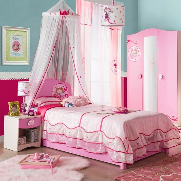 Lampara princesas chile buscar con google casa girl room room y house - Dosel para cama nina ...