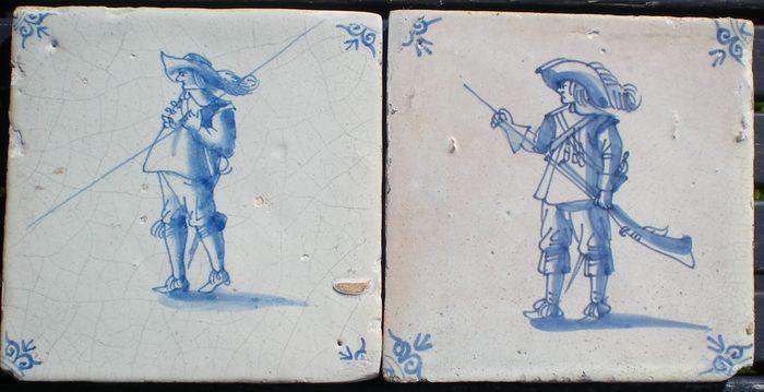 Antieke Makkumer Tegels : Online veilinghuis catawiki kavel van antieke tegels hoekmotief