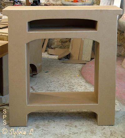 meuble en carton qui ressemble un manteau de chemin e creation pinterest meuble en. Black Bedroom Furniture Sets. Home Design Ideas