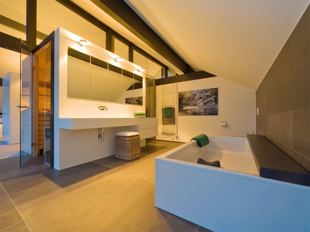 Moderne häuser innen  HUF Haus ART 4- Großzügiges Raumprogramm und viel Liebe zum Detail ...