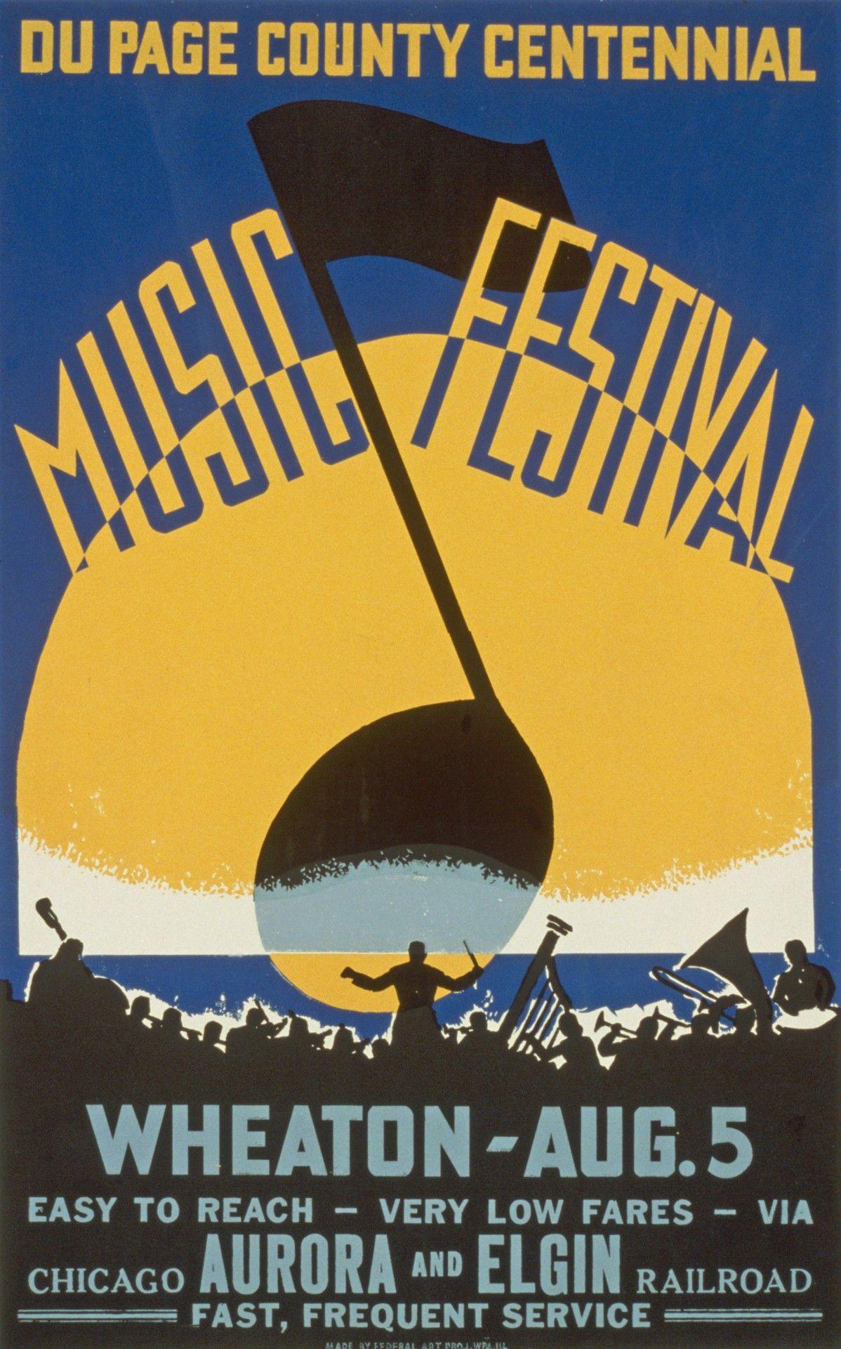 Vintage Music Posters Prints