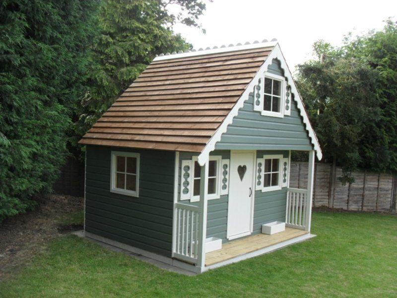Spielhaus Design Wie Bei Den Russischen Landhäusern | Garten ... Spielhaus Im Garten Kinderspielhaus Holz