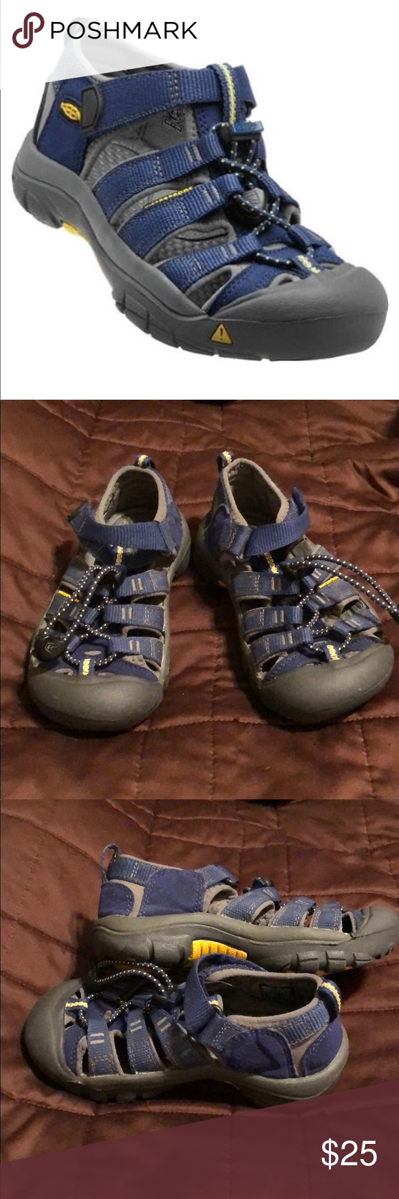 0af908fac3f2 Kids Keen s size 11us KEEN Newport H2 Sandals Blue Depths Gargoyle Kids.  Used but in like new condition. No box. This great summer sandal can take  anything ...