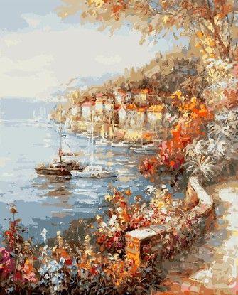Картина по номерам Номерашка (Paintboy) «средиземноморское ...