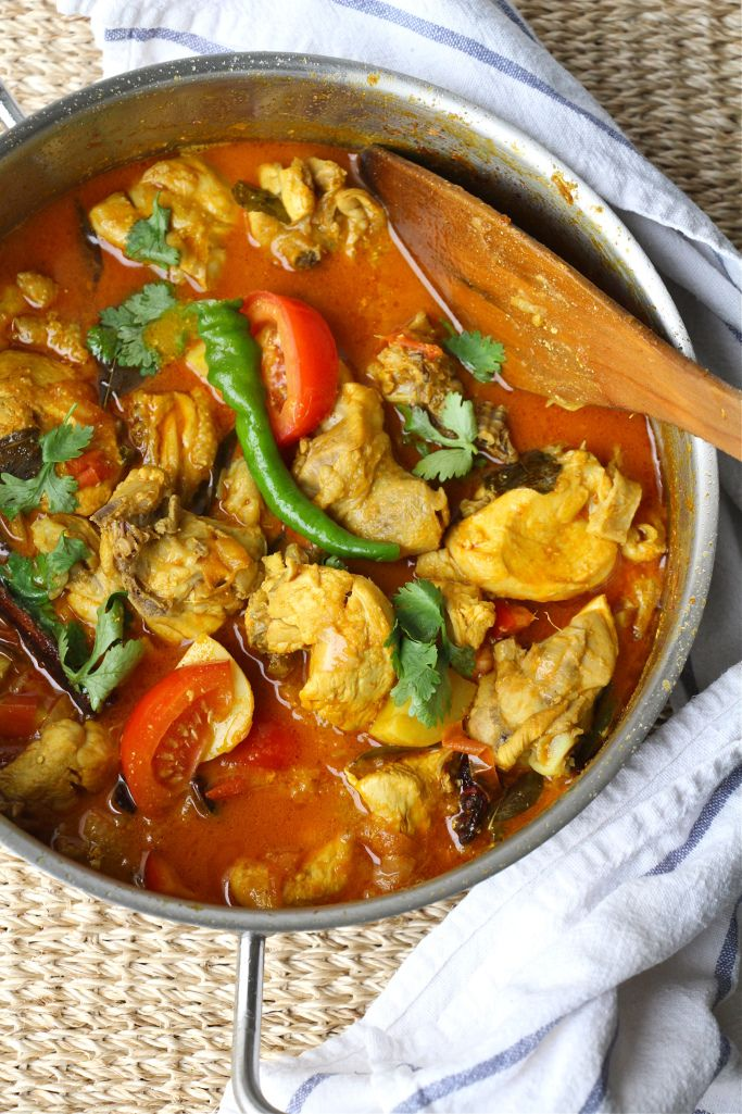 Easy And Light Chicken Curry Indian Food Recipes Easy Chicken