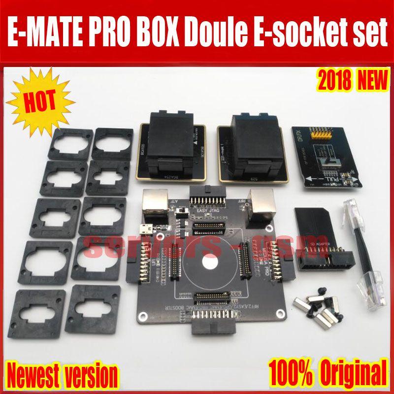Newest Original E-MATE BOX EMMC doule E-Socket Support
