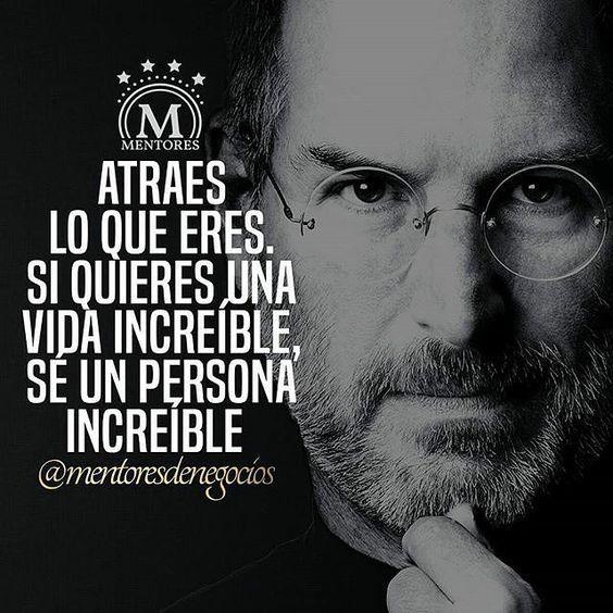 Atraes lo que eres. Doble toque si estás de acuerdo @mentoresdenegocios #frases #quotes #mentores #negocios #libertad #motivacional #exito #luxury #entrepreneur #emprender #emprendimiento #pasion #ser #vida #RepostIt_app by saravys: