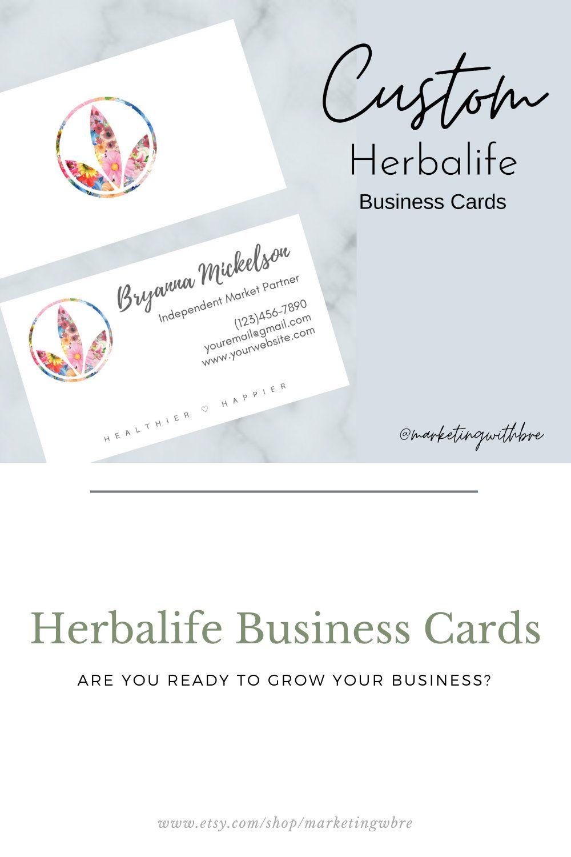 Custom Herbalife Business Cards Herbalife Business Cards Herbalife Business Printing Business Cards