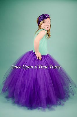 Skirts 147214 Long Purple Tutu Skirt