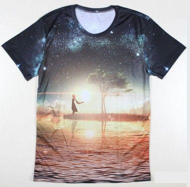 Pánské letní tričko s potiskem strom – trička s potiskem Na tento produkt  se vztahuje nejen zajímavá sleva 39eb22edcc