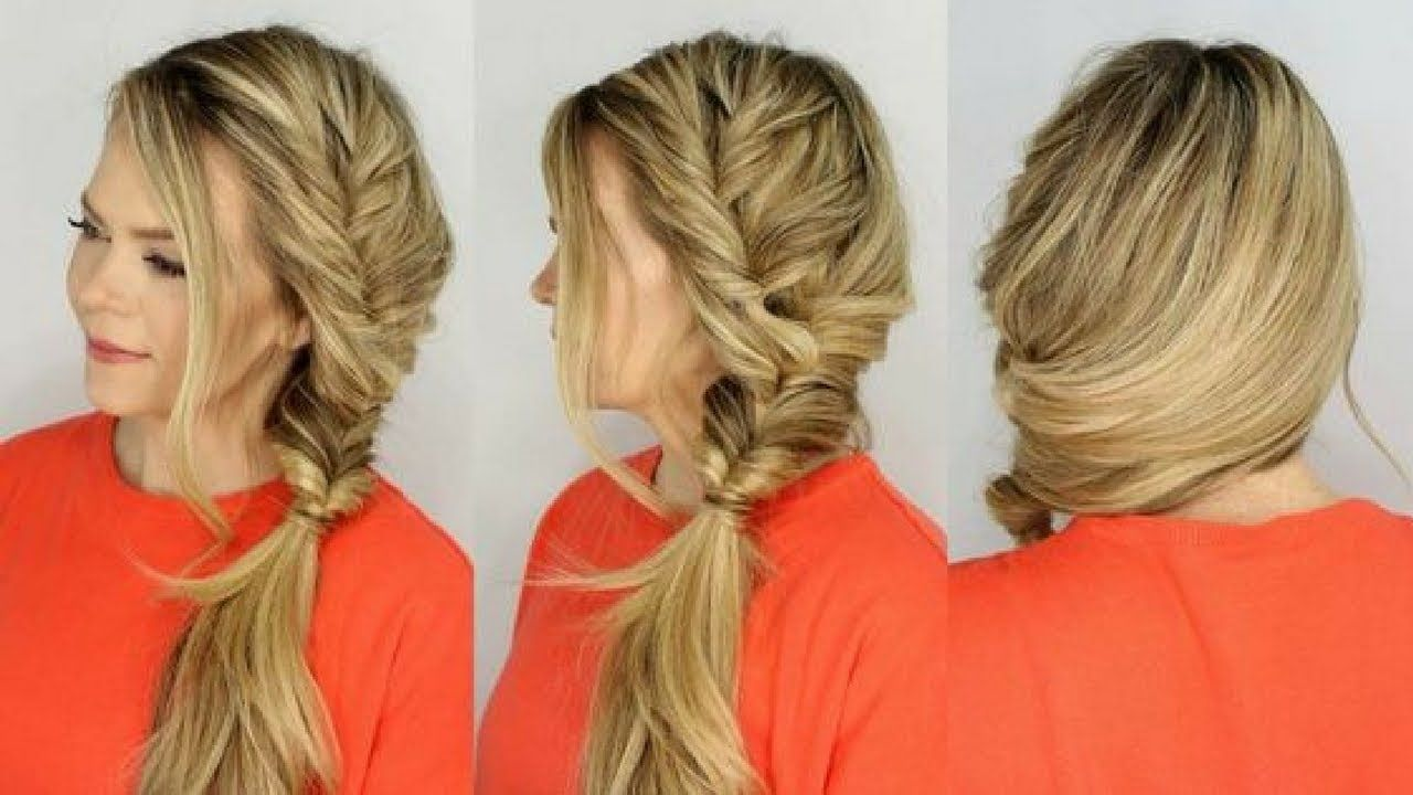 Simple and easy beautiful hairstyle for long hair everyday