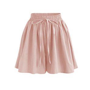 High Waist Loose Chiffon Shorts #chiffonshorts High Waist Loose Chiffon Shorts - BeFashionova #chiffonshorts