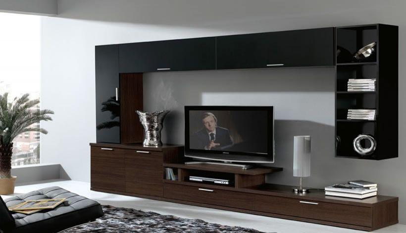 Mueble tv ideas para el hogar pinterest muebles para for Como hacer muebles para sala