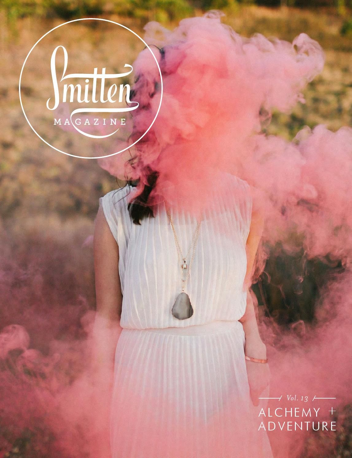 Fur + Feathers: Smitten Magazine Volume 13 January 2016 Page 90 - 9 / Flowers by Christy Hulsey for Colonial House of Flowers with Harwell Photography, Design Studio South, Pottery Barn, Cameron Hughes Wine,
