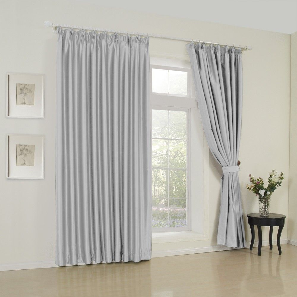Modern Solid Silver Curtain Milan Curtains Living Room Drapes Curtains And Draperies Silver Curtains #silver #curtains #for #living #room