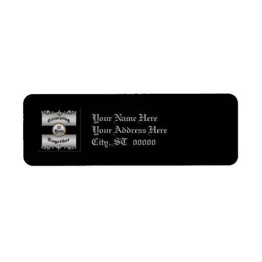10th Anniversary Label