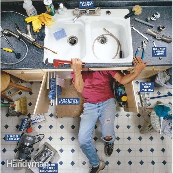 How To Replace A Kitchen Faucet Kitchen Faucet Faucet Repair Faucet