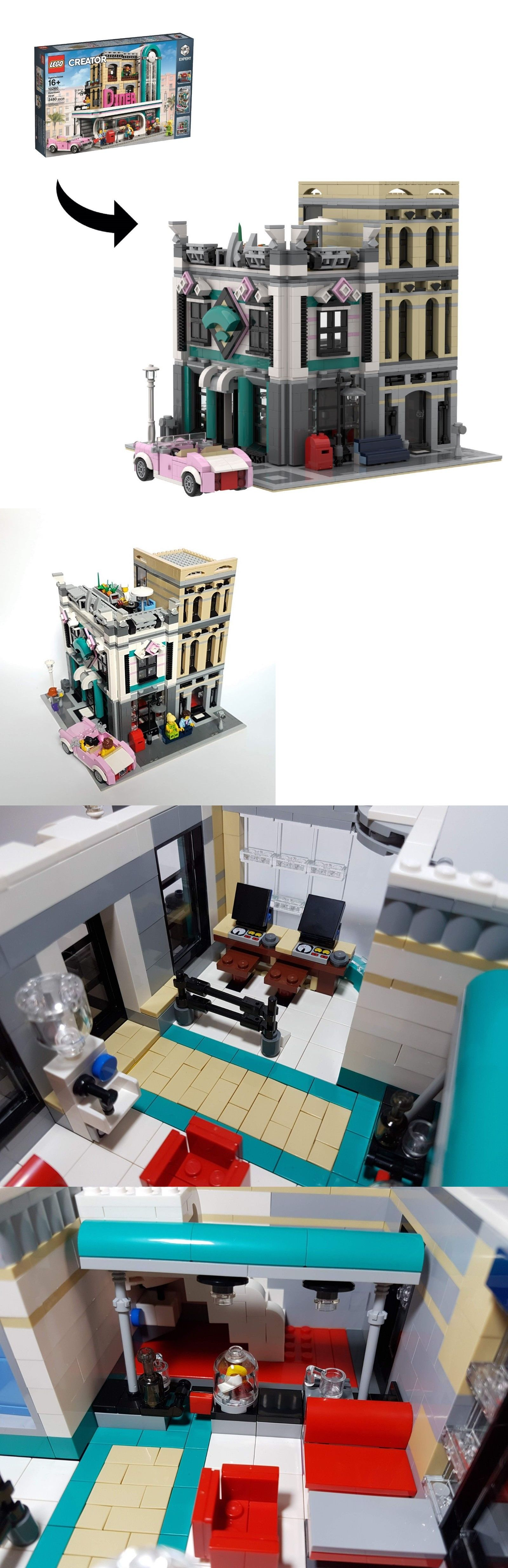 LEGO Instruction Manuals 183449: Instructions For Internet Café - An