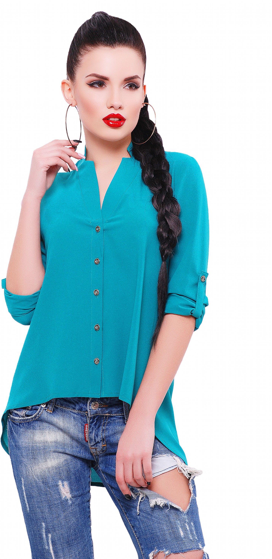 Photo of Blouse Fashion Up Michelle BZ-1456C 44 Emerald (2,000,000 …