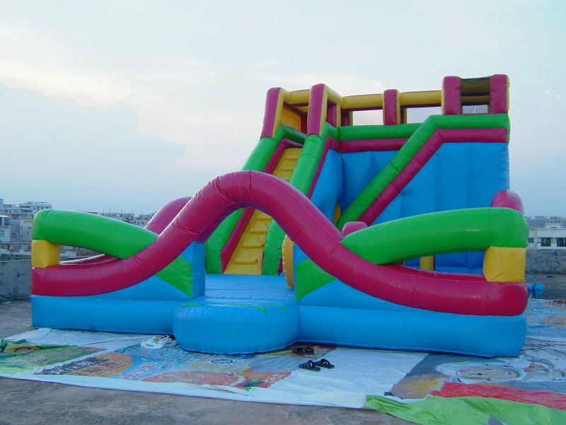 Cheap Big Inflatable Water Slides