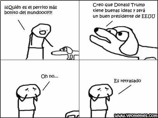 ★★★★★ Imágenes de memes divertidos: Donald Trump tiene buenas ideas I➨ www.diverint.com/... → #memesgraciososchilenos #memesgraciososespañol #memesgraciososfacebook #memesgraciososnuevos #vermemesenespañol