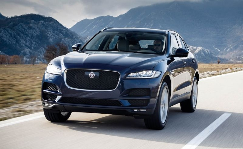 jaguar offers efficiency and safety features in the 2018 f pace 25t rh pinterest com