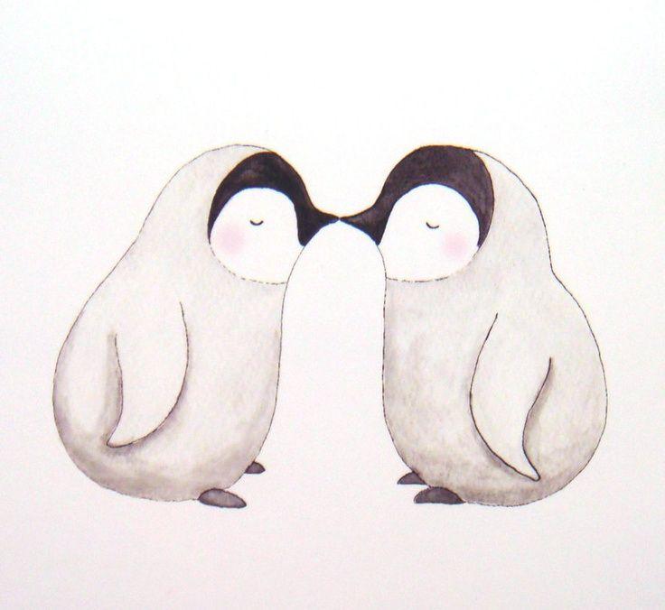 Картинки нарисованные животные любовь