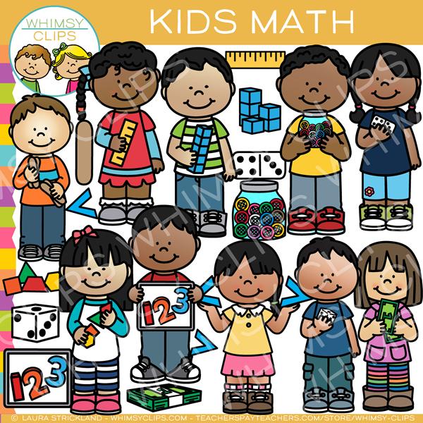 Kids Math Clip Art Math Clipart Math For Kids Clip Art