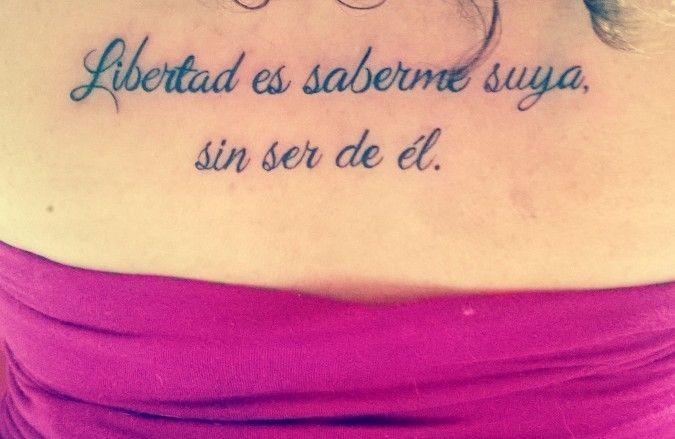 tatuajes #libertad #frases | tatoo | pinterest