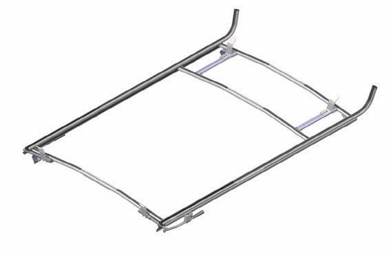 dual roof top ladder rack  compatible with ford e