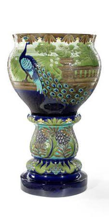 46aea7d2373 Pottery Cache Pot   Pedestal