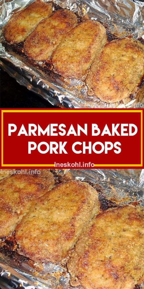 this is the original parmesan baked pork chops recipe - aka the best pork chop recipe EVER! try it, you won't be disappointed. #porkchops #bestrecipe #comfortfood #familydinner #dinner #dinnerrecipe #whatsfordinner #justapinchrecipes #parmesanbakedporkchops #bakedporkchops #recipevideo