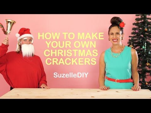 Suzellediy humor how to make your own christmas crackers suzellediy humor how to make your own christmas crackers christmas pinterest christmas crackers christmas wonderland and crafty solutioingenieria Images