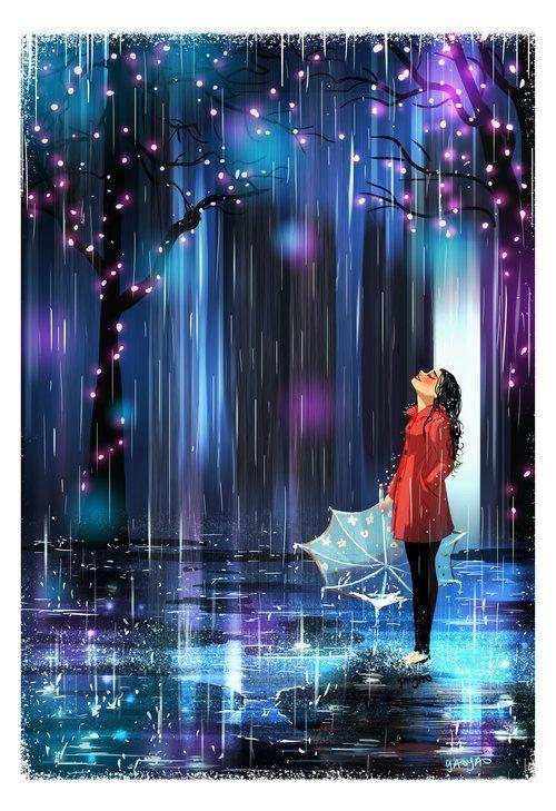 Still Standing - #rain #standing #cuteumbrellas