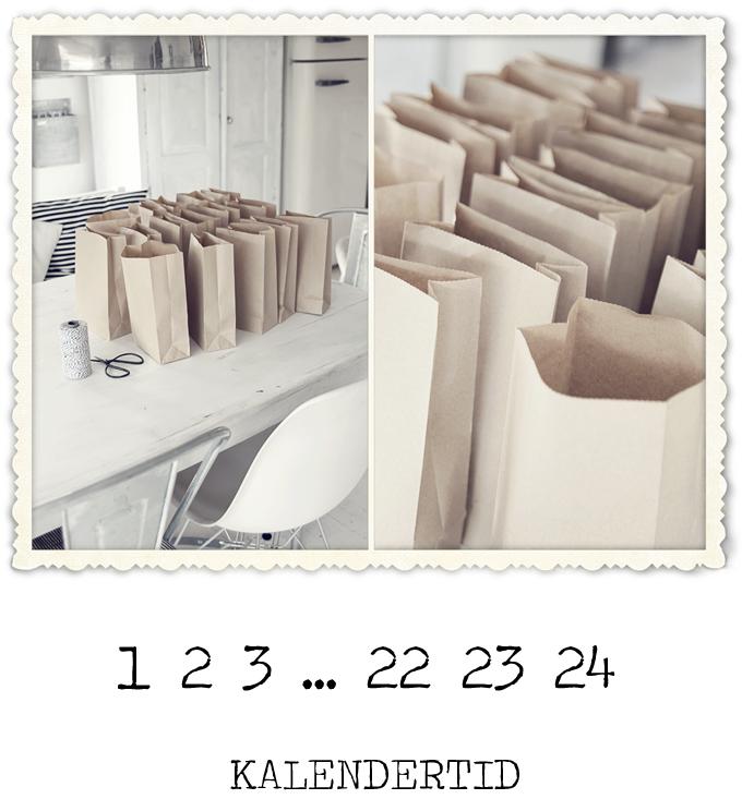 preparing advent calendar