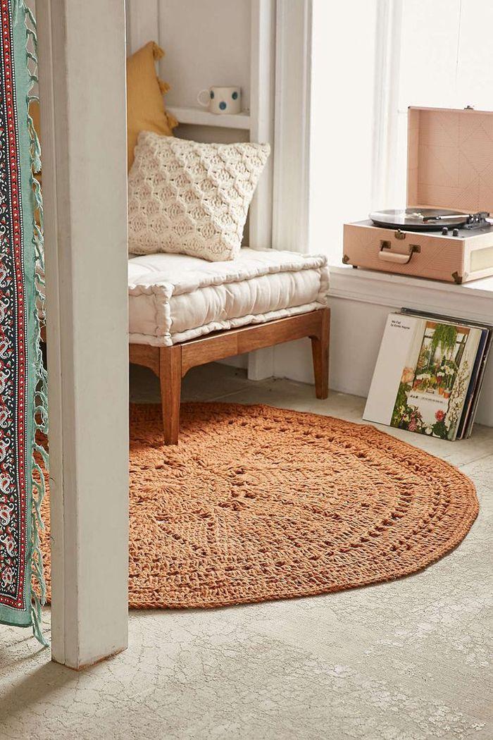 Accesorios para decoraci n boho alfombras de yute o fibras naturales interiorismo - Alfombras fibras naturales ...