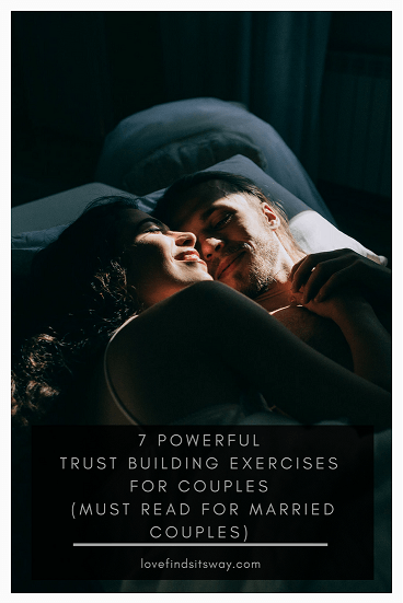 Trust exercises for married couples