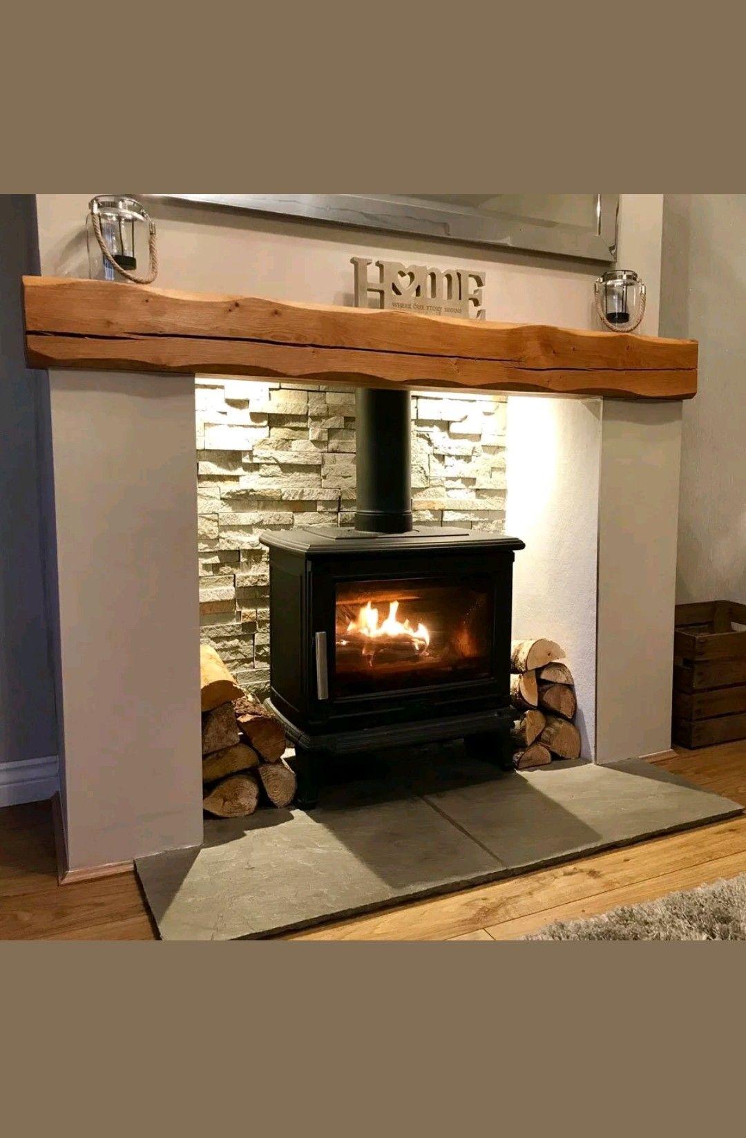 Pin by Josh Palmore on Fireplaces Brick fireplace, Home