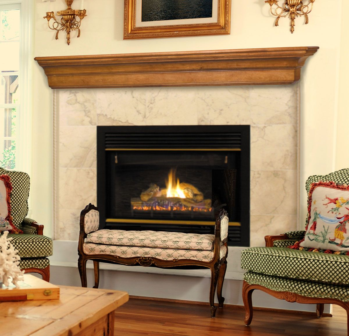 26 Stunning Fireplace Mantel Shelf Ideas Kbhomes