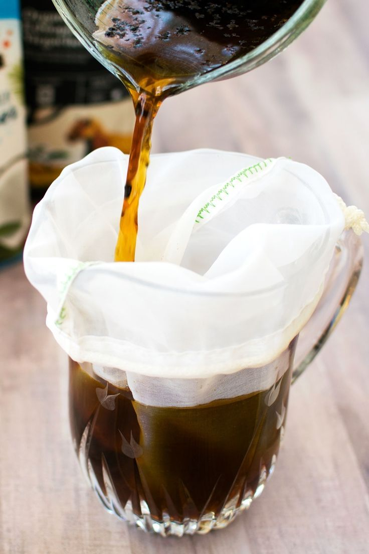 Dairyfree cold brew coffee with snickerdoodle option