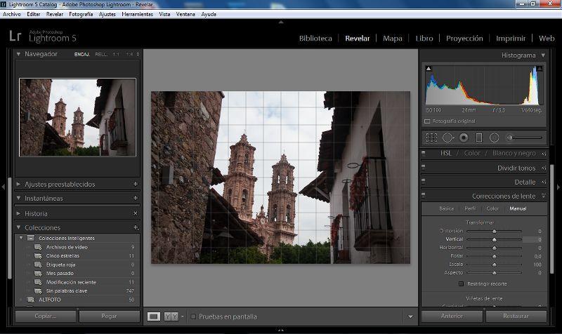 Adobe Lightroom 5 frente a las demás versiones (primera parte