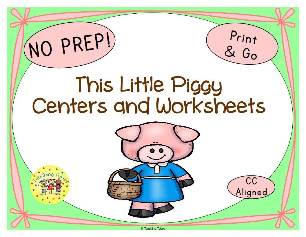 This Little Piggy Activities