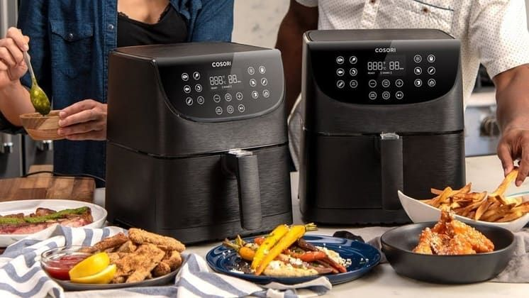 The 12 Best Large Capacity Air Fryers Big Cookin 2019 Air Fryers No Cook Meals Large Air Fryer