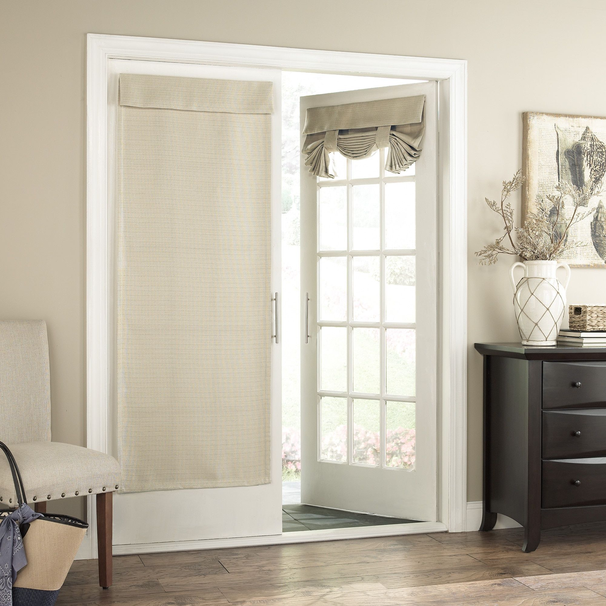 Eclipse bryson thermaweave blackout french door panel x blue