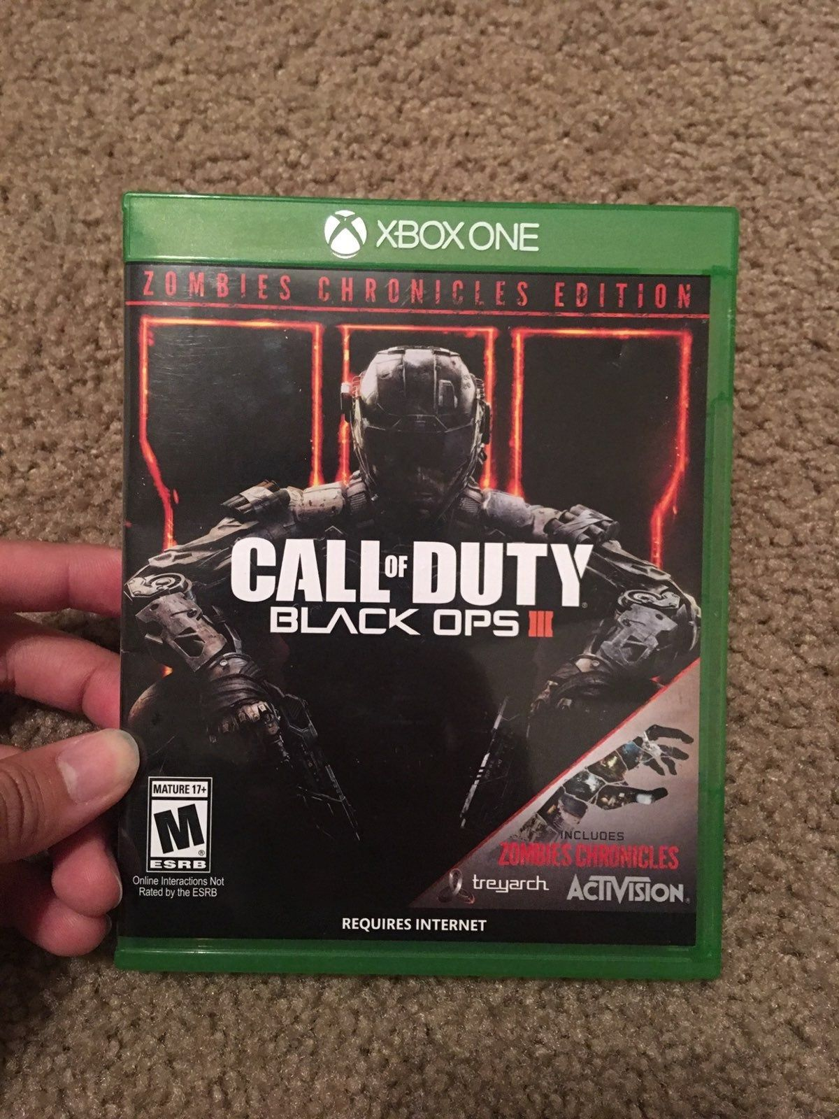 Call Of Duty Black Ops 3 Zombies Chronicles Edition For Xbox One Used Excellent Condition Pl Call Of Duty