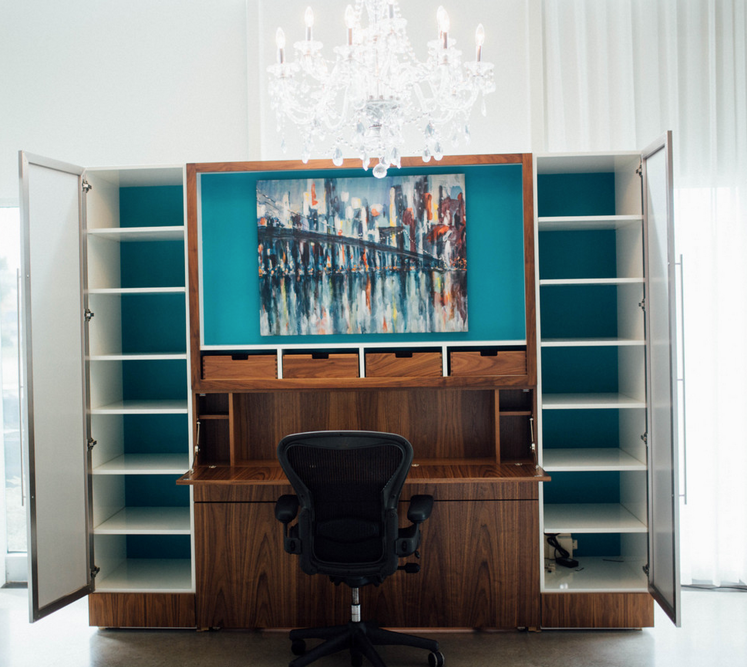 Zoom Room Murphy Bed Woodways Custom Cabinetry Zoom Desk Murphy Bed Zoom Room Zoom
