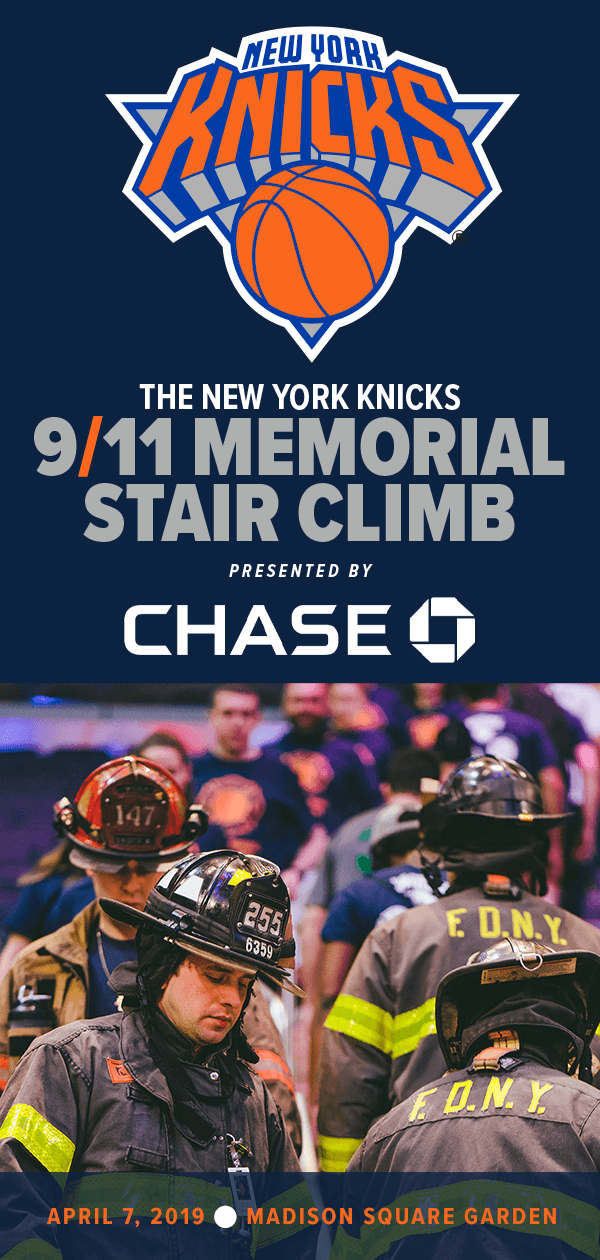 5f629c33d3c The New York Knicks 9 11 Memorial Stair Climb Presented by Chase is way to  remember those who made the ultimate sacrifice on September 11